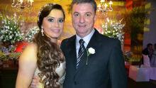 Evaldo Pavão e sua esposa Marilda Brum Foto: Tião Prado