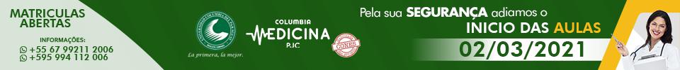 Faculdade columbia - Matrículas abertas 2021