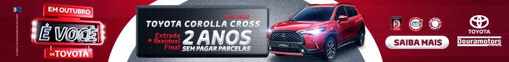 COROLLA CROSS DOURAMOTORS - OUTUBRO 2021